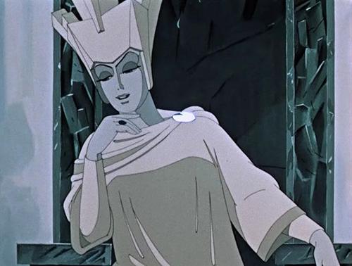 """Кадр из мульфильма """"Снежная Королева"""", 1957 г."""